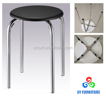 Stupendous Cheap Round Wooden Top Stacking Stools With Metal Legs Buy Stackable Stools Metal Stacking Stools Wooden Round Stool Product On Alibaba Com Ibusinesslaw Wood Chair Design Ideas Ibusinesslaworg