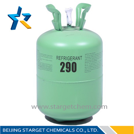 99.99% Purity Cool Gas R134a Double Valve