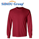 100% Men Cotton Blank T Shirts Full Sleeve