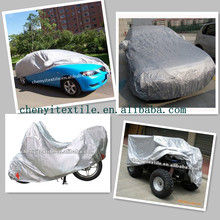 Export best Factory Polyester taffeta fabric textile auto car covers