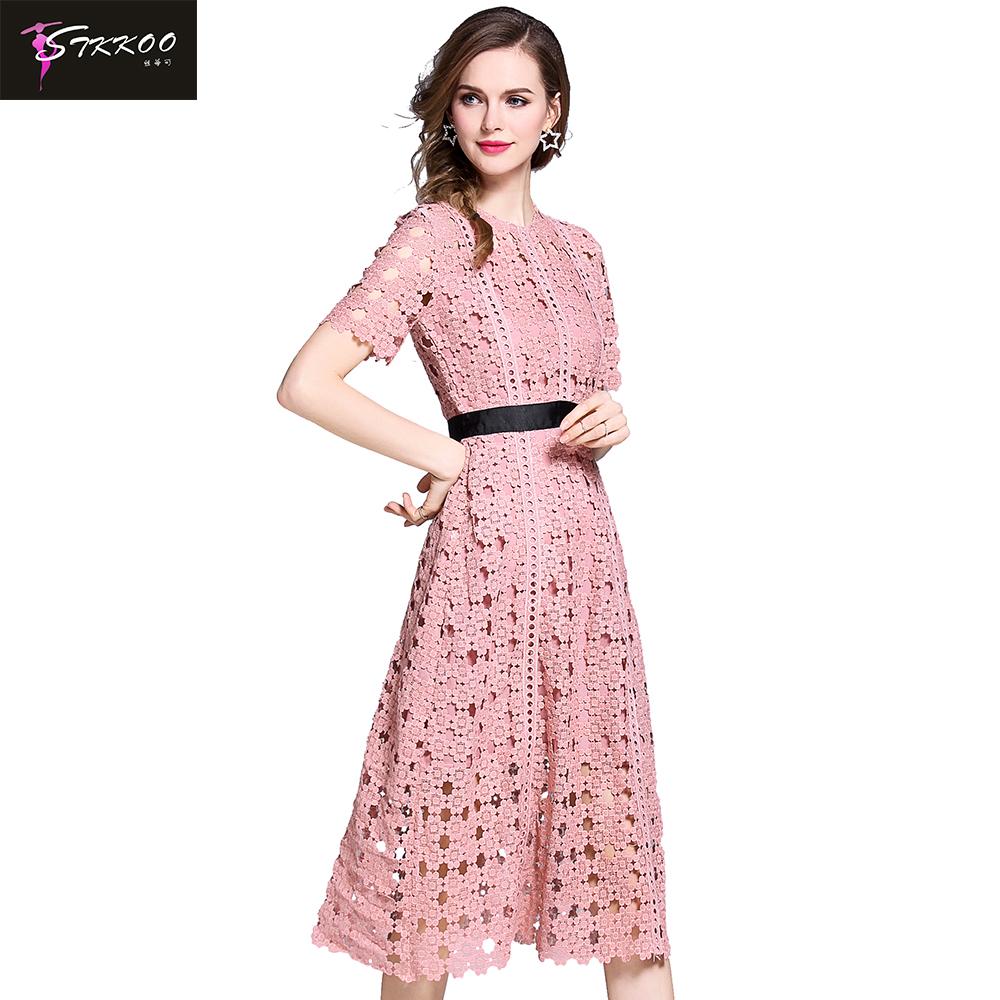 Venta al por mayor vestidos crochet largo-Compre online los mejores ...