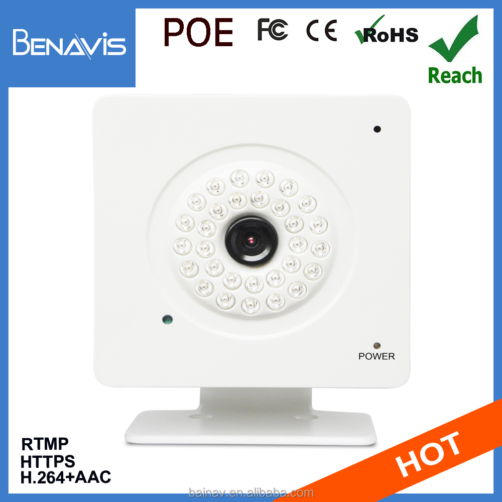 1/4 In Cmos Mini Poe Small Motion Activated Security Light Camera
