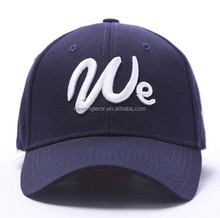 Popular design 6 panel outdoor running unisex sports cap with customized logo