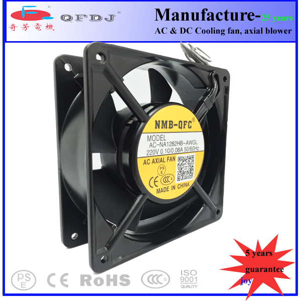 Qifang factory high CFM large airflow 80mm 92mm 110mm 120mm ac axial fan for equipement 's cooling <strong>system</strong>