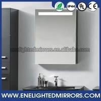 Factory OEM Hotel Project surface mount backlit mirror medicine cabinet