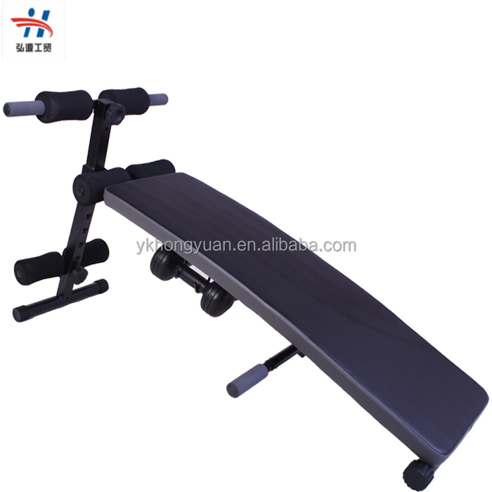 Fitness Equipment folding sit up bench , used sit up bench with factory price