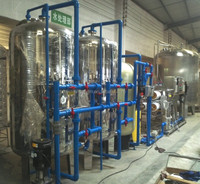 Juice water RO purification system/RO system UV sterilizer Ozone generator/Softener RO complete line