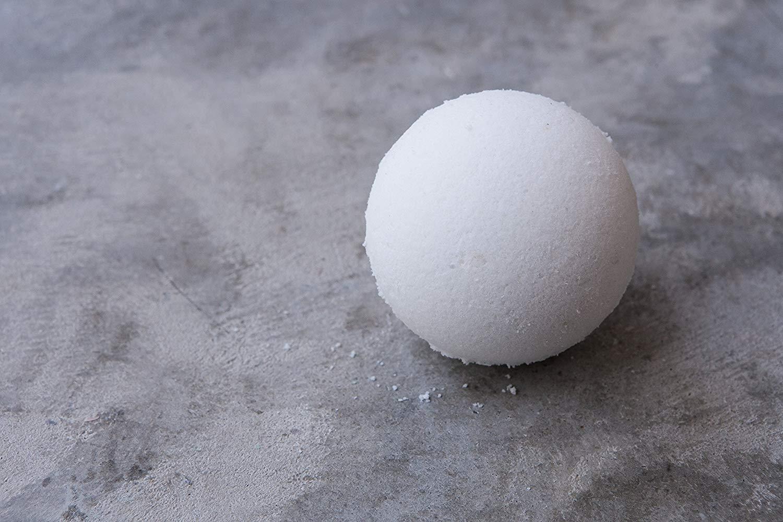 ONE Coconut Milk Bath Bomb    bath fizzy / relaxing / moisturizing / epsom salt / bath time / color free / pamper / tropical / bath bomb