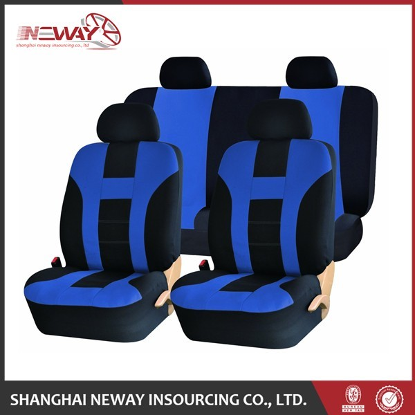 new design black auto car seat covers for wholesales