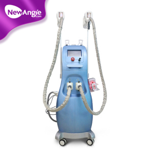 Ultrasonic vaccum cavitation RF freeze fat cryolipo machine aluminium handle