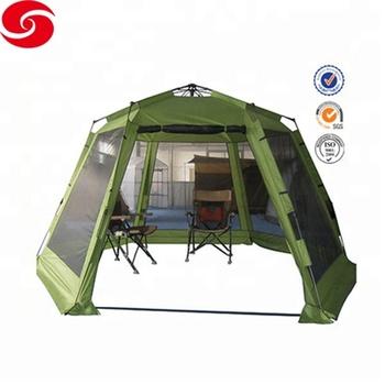 6-8 person auto open hexagon aluminum frame pop up tent canopy  sc 1 st  Alibaba & 6-8 Person Auto Open Hexagon Aluminum Frame Pop Up Tent Canopy - Buy ...