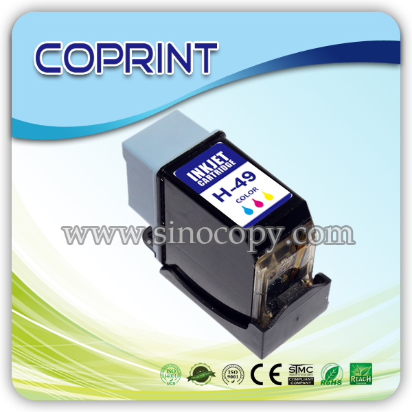 Remanufactured ink cartridge with H-41 51641A
