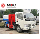 Dongfeng 4x2 garbage truck garbage truck hits car
