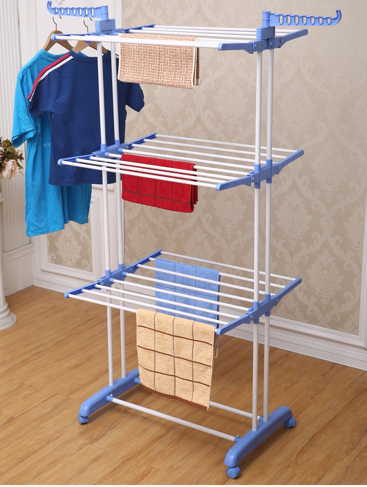 Rx cr300w Folding Adjustable Clothes Stainless Steel Baby
