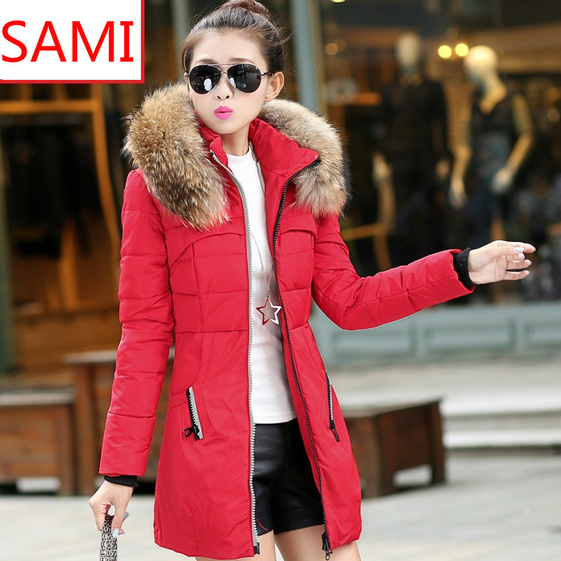 popular stores great quality uk store Red Womens Winter Coat - Sm Coats