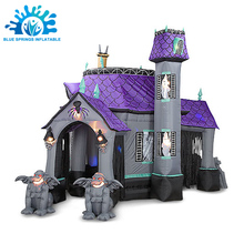 Blue Springs Inflatables Do Feriado, <span class=keywords><strong>Inflável</strong></span> <span class=keywords><strong>de</strong></span> <span class=keywords><strong>Halloween</strong></span> Horror Casa
