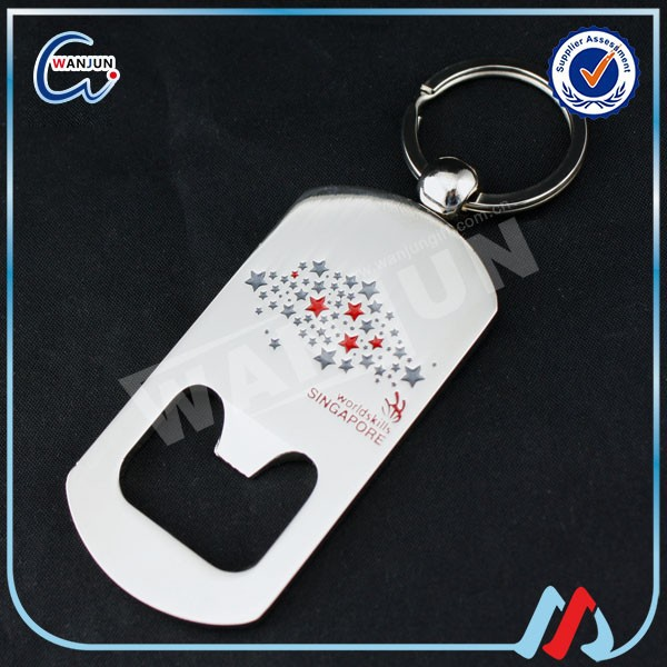 promotion high quality key ring bottle opener