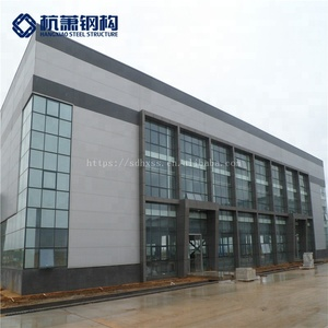 Customized prefab warehouse steel structure prefabricated shopping mall