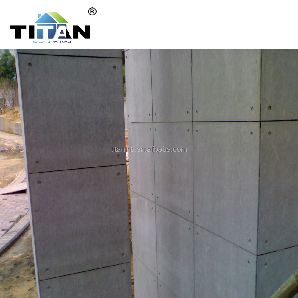 10mm Wall Decoration Fiber Cement Panel for Interior Wall