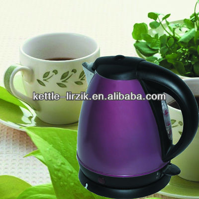 1.5l color change s/s kettle print fiower and durable to use