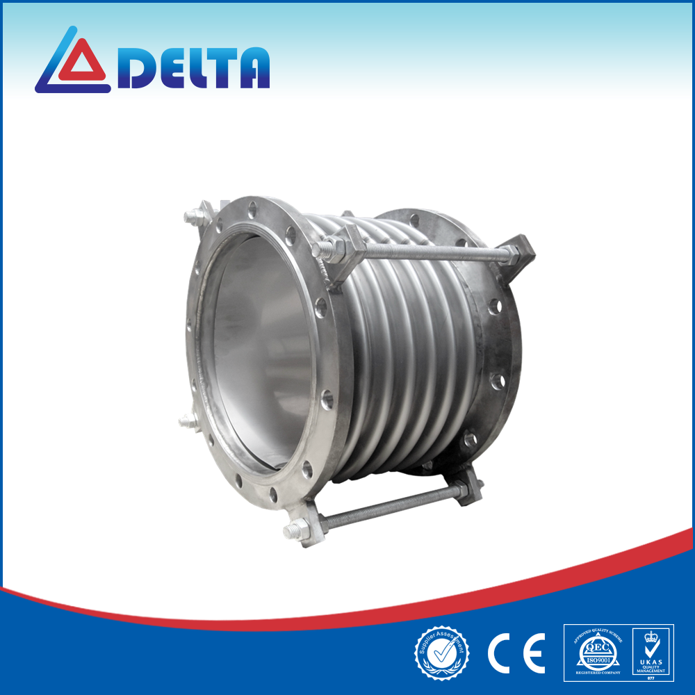 Single Sphere Stainless Steel Bellows Corrugated Expansion Joint