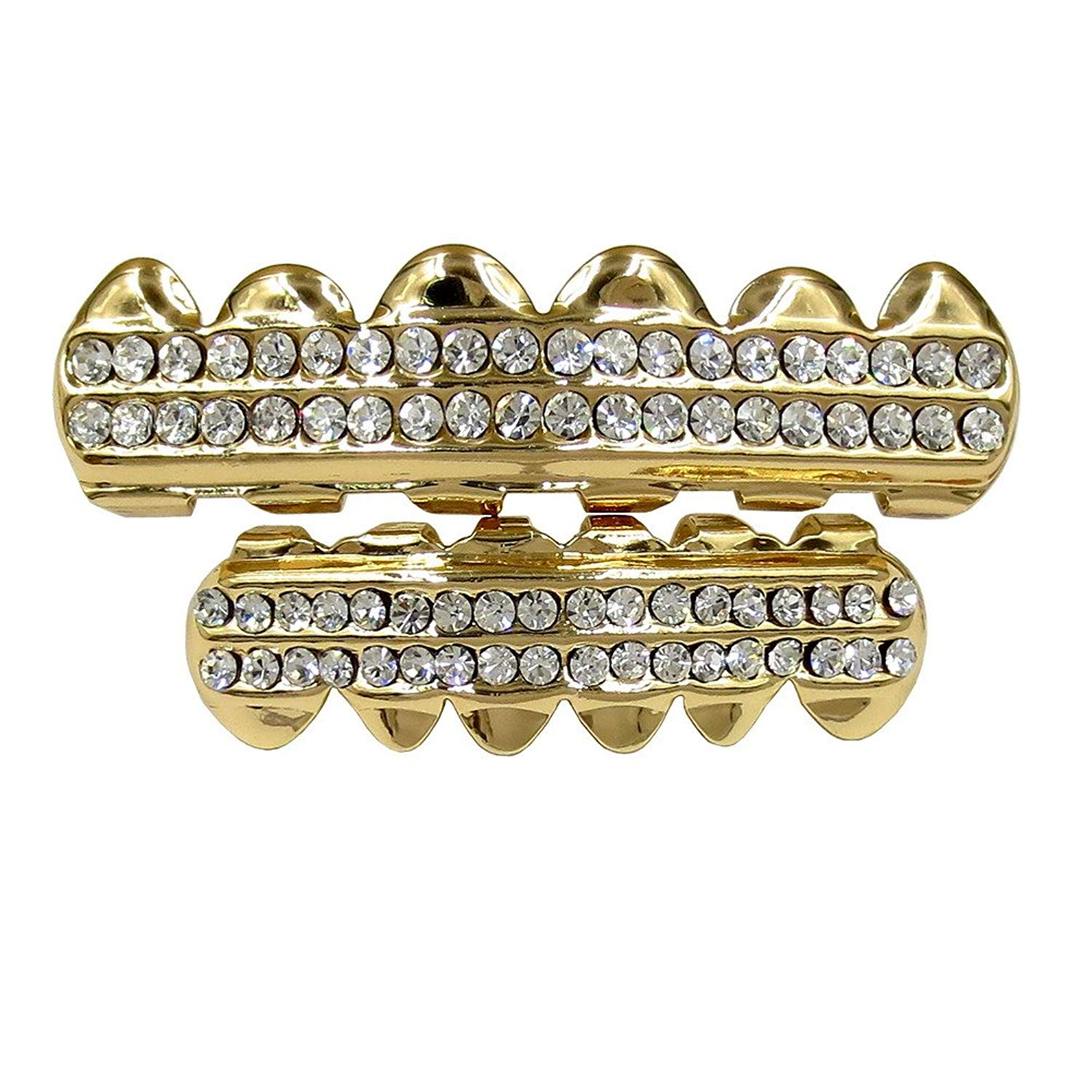 Buy Fun Bling Bling Grillz - Set of 10 Gold and Silver