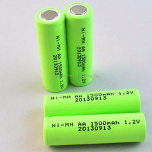 Sunrising 1.5v aa ni-mh rechargeable battery /ni-mh battery cell