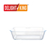 High Quality Tempered Retangular Borosilicate Glass Baking Dish