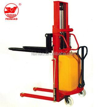 Single Frame Semi Electric Hydraulic Forklift - Buy Hydraulic ...