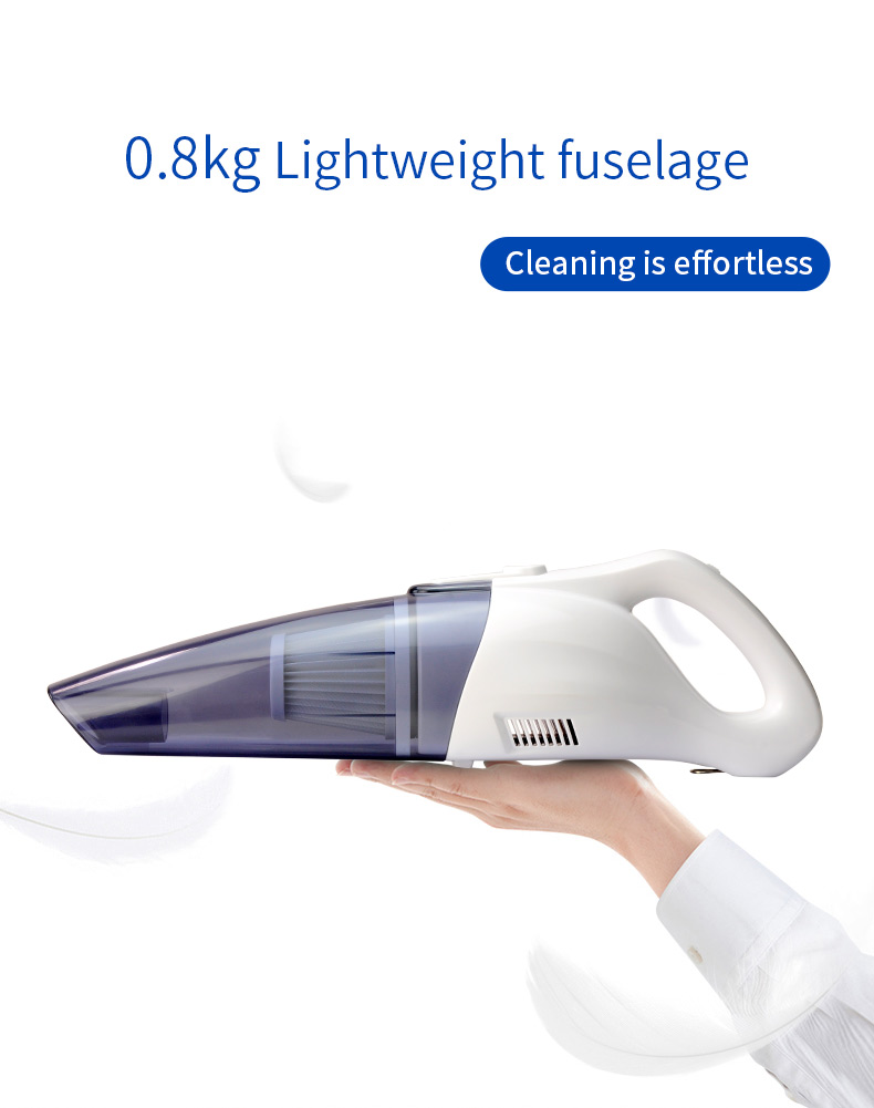 2019 new cleaner car vacuum cleaner dry Cyclone Filter Car/Home use cordless hand vacuum cleaner made in china