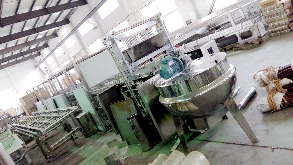 High quality professional ce gummy bears vitamins production line candy making machine