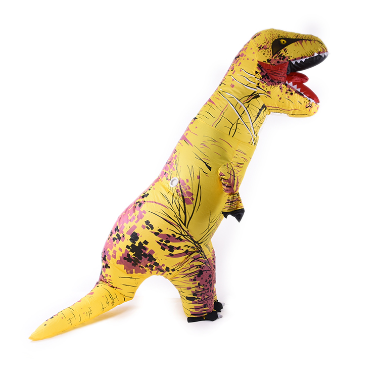 Grossiste Monde Jurassique Dinosaure Gonflable Cosplay Costume