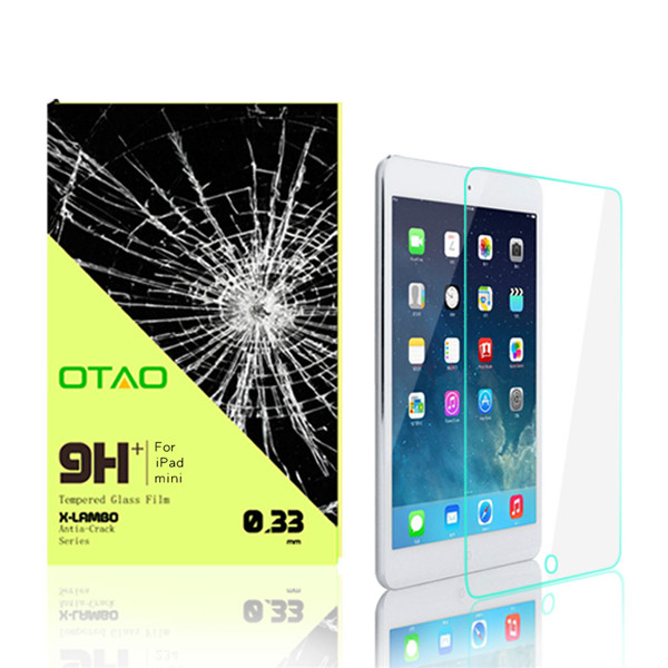 for iPad Mini screen protector anti shock with retail packing, shock proof screen guard