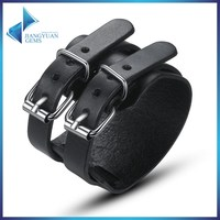 PI0094 top sellers leather jewelry bulk mens leather bracelet