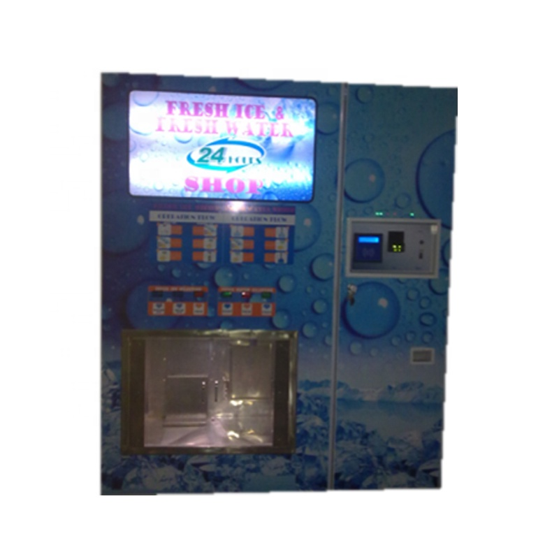 China biggest manufacturer the bagged ice water vending machine with 800GPD