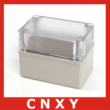 New plastic outdoor waterproof storage box with transparent lid