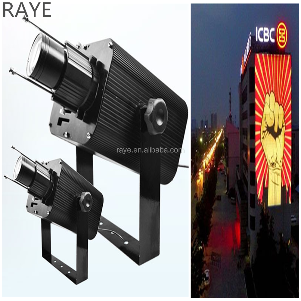 hight powerful larger venue gobo projector for large square art projector