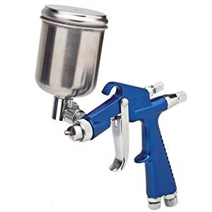 Mini DETAIL TOUCH-UP HVLP SPRAY GUN w-1.0 TIP Auto Car Paint Spot Repair repairs, door jambs, and difficult-to-reach areas!
