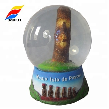 Wholesale Personalized Cheap Resin Souvenirs Snow Ball