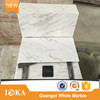 < Hot Sale> White and Grey Vein Marble Tiles White Rainbow Marble