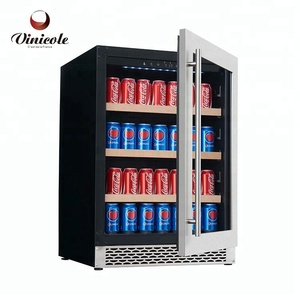 Compressor Fridge Stainless Steel Can Cooler Beverage Can