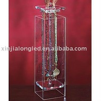 Simple And Elegant Acrylic Jewelry Stand