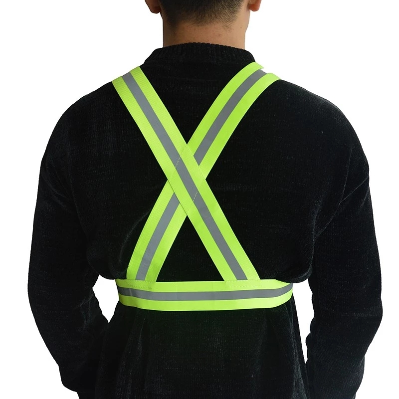 High Visibility Reflective Vest Safety for Night Running Walking Construction for Kids Men Women