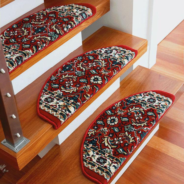 escalier tapis antid rapant tapis et tapis pour escaliers skid marches pad paississement. Black Bedroom Furniture Sets. Home Design Ideas