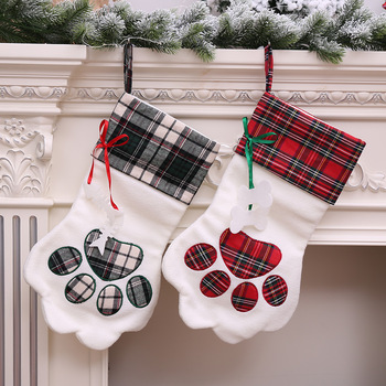 Christmas Stockings For Dogs.Large Pet Dog Paw Christmas Stockings M8062001 Buy Dog Paw Christmas Stockings Christmas Stockings Pet Dog Paw Christmas Stockings Product On