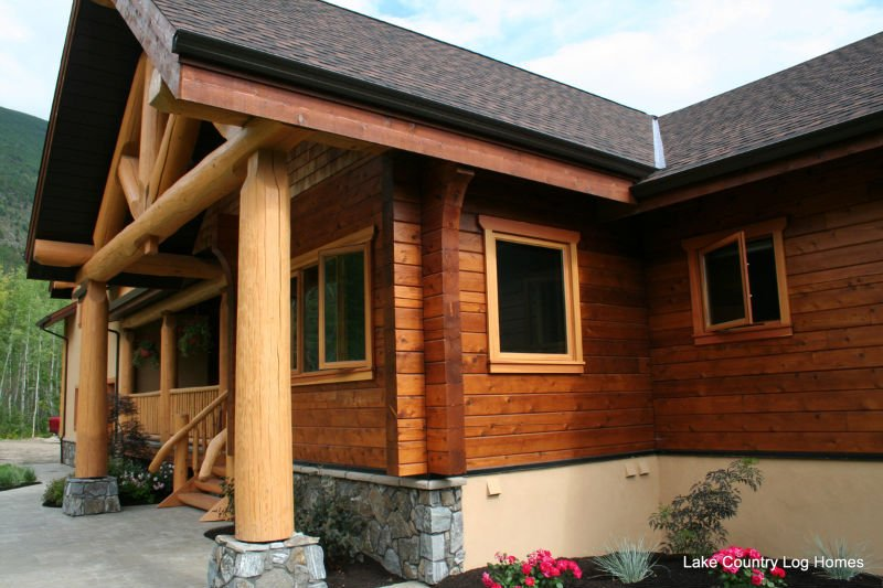 Western Red Cedar Log Homes