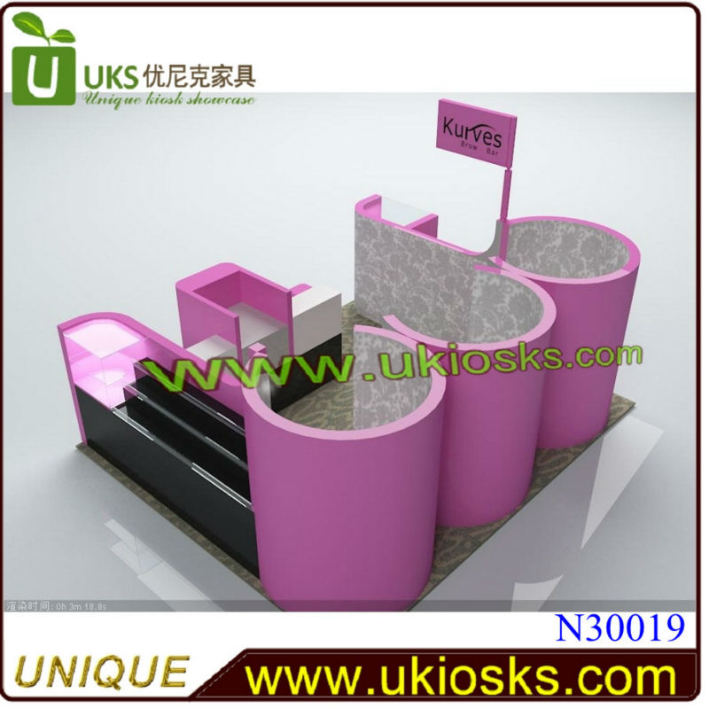 * Trendsetters like it * Nail And Eyebrow Kiosk, Nail Table With Customize Design