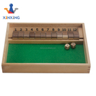 Wooden Shut the box With Nine Numbers