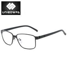 Оптические очки для близорукости, оправа для мужчин, прогрессивные очки по рецепту, оправа из сплава, полная оправа TR90, очки, корейские прозр...(Китай)