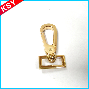 Latest New Design Factory Promotion Price Guangzhou Made Bag Metal Parts Dog Silver Color Snap Hook